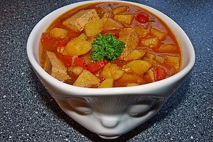 Tofu-Gulasch 2