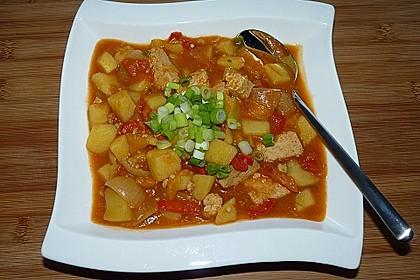 Tofu-Gulasch 1