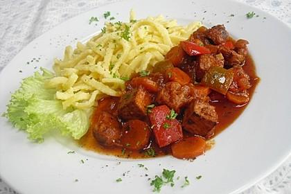 Vegetarisches  Gulasch 6
