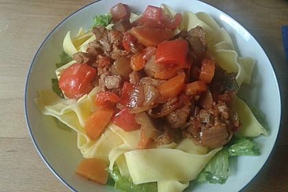 Vegetarisches  Gulasch 2