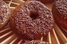 Amerikanische Hefe-Donuts