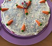 Möhren-Nuss-Kuchen