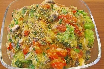 Gemüse-Polenta Würfel 7