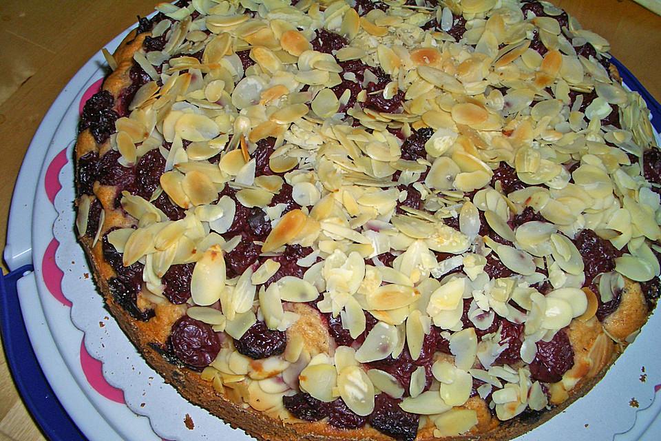 Rezept kuchen mit mandelsplitter