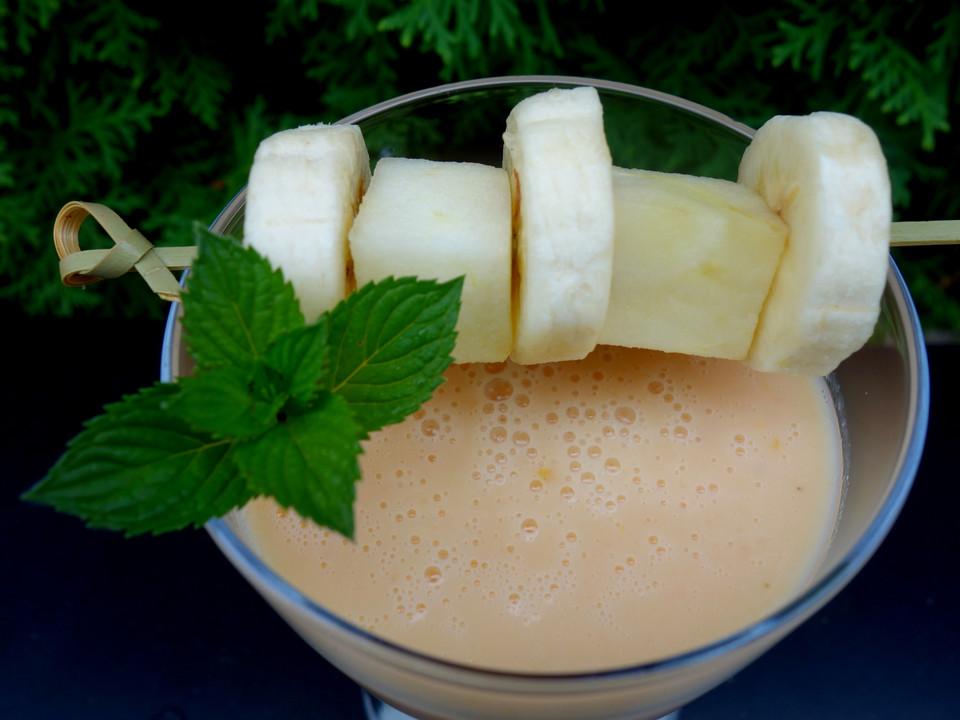 apfel bananen smoothie rezept mit bild von carina009. Black Bedroom Furniture Sets. Home Design Ideas