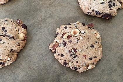 Schoko-Cookies vegan 8