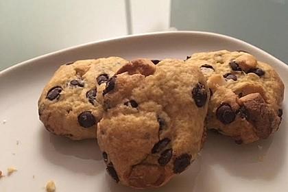 Schoko-Cookies vegan 25