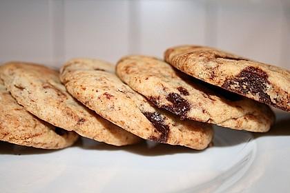 Schoko-Cookies vegan 1