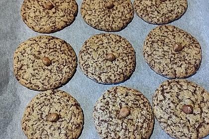 Schoko-Cookies vegan 24