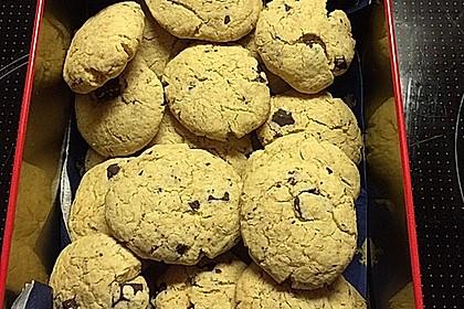 Schoko-Cookies vegan 11
