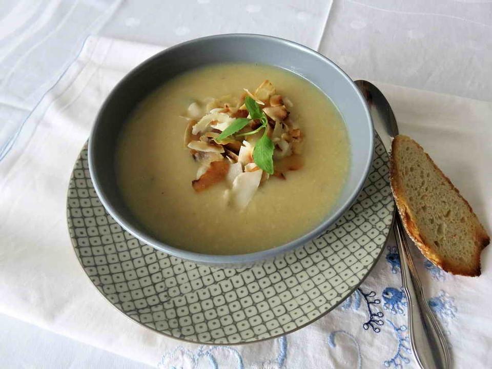 curry blumenkohl suppe mit kokosmilch von dannybanny66. Black Bedroom Furniture Sets. Home Design Ideas