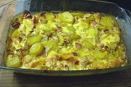 Kartoffel-Wurst-Auflauf