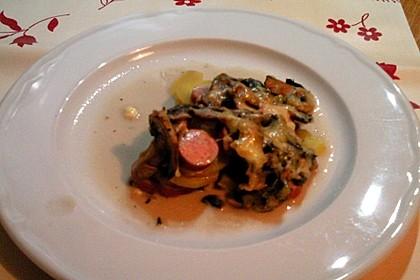 Kartoffel-Wurst-Auflauf 1