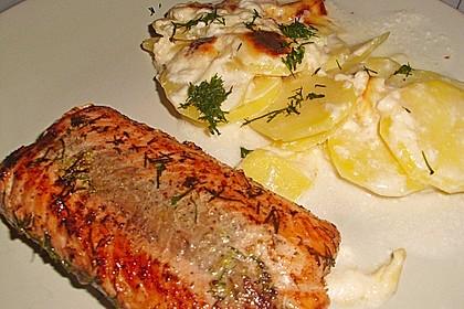 Gebratener Lachs mit Zitronenkruste 14