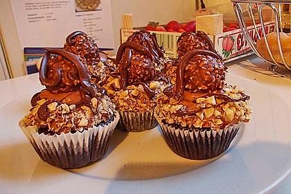 Nuss-Nougat-Cupcakes 4