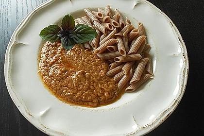 Thailändische Erdnusssauce