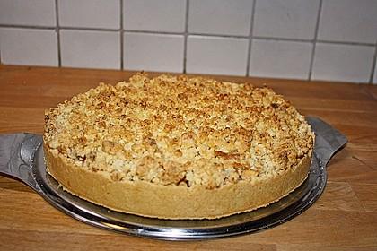 Apfelkuchen mit Marzipanstreuseln 1