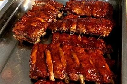 Köstliche BBQ Spareribs für Smoker und Backofen (inkl. Soße und Gewürzmischung) 26
