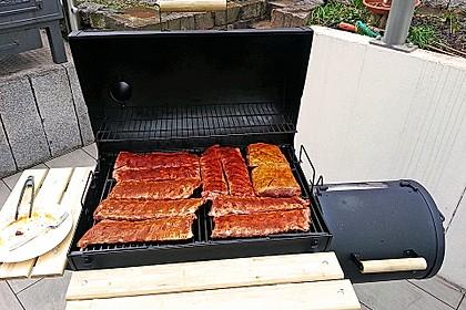Köstliche BBQ Spareribs für Smoker und Backofen (inkl. Soße und Gewürzmischung) 10