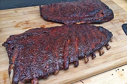 Köstliche BBQ Spareribs für Smoker und Backofen (inkl. Soße und Gewürzmischung) 7
