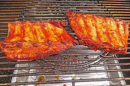 Köstliche BBQ Spareribs für Smoker und Backofen (inkl. Soße und Gewürzmischung) 16
