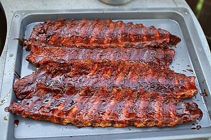 Köstliche BBQ Spareribs für Smoker und Backofen (inkl. Soße und Gewürzmischung) 2