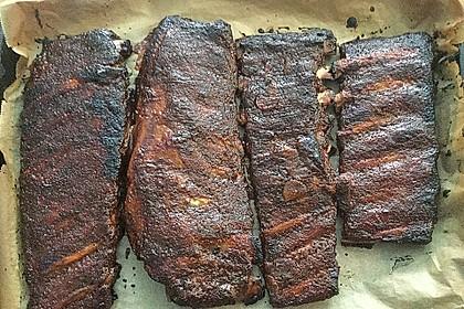 Köstliche BBQ Spareribs für Smoker und Backofen (inkl. Soße und Gewürzmischung) 25
