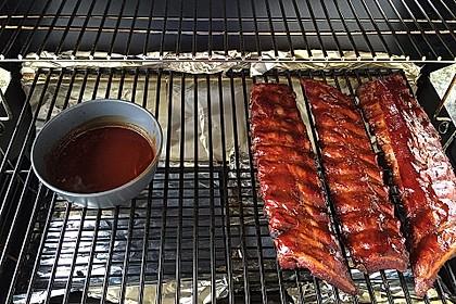 Köstliche BBQ Spareribs für Smoker und Backofen (inkl. Soße und Gewürzmischung) 12