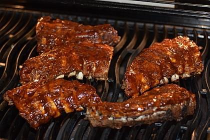 Köstliche BBQ Spareribs für Smoker und Backofen (inkl. Soße und Gewürzmischung) 4