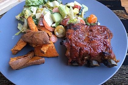 Köstliche BBQ Spareribs für Smoker und Backofen (inkl. Soße und Gewürzmischung) 22