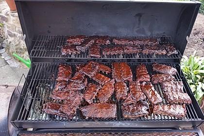 Köstliche BBQ Spareribs für Smoker und Backofen (inkl. Soße und Gewürzmischung) 14