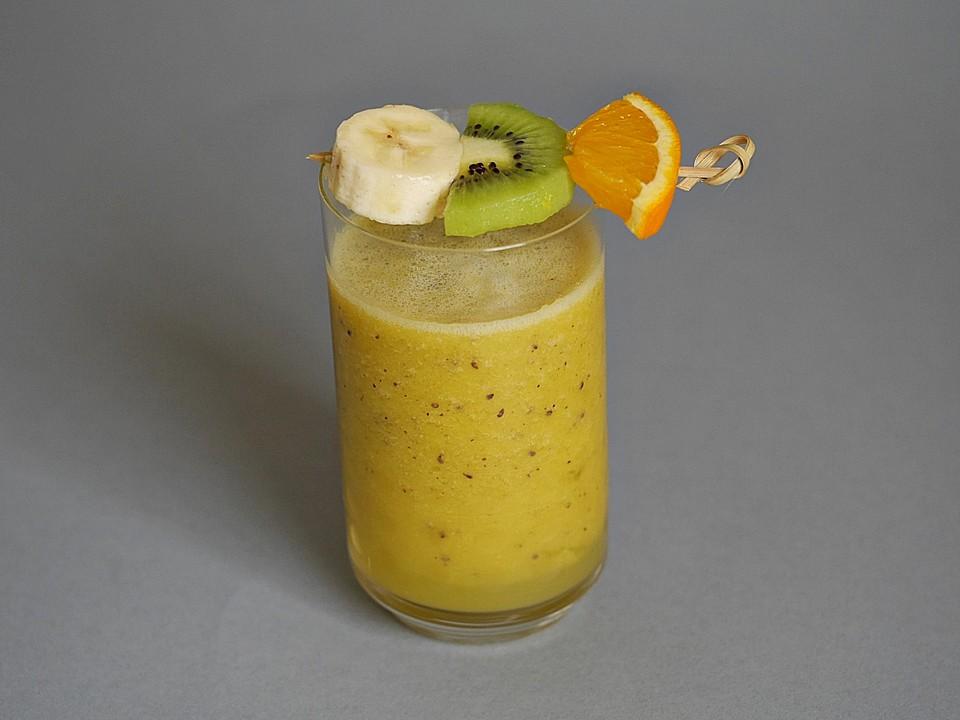 banane kiwi orange smoothie rezepte. Black Bedroom Furniture Sets. Home Design Ideas
