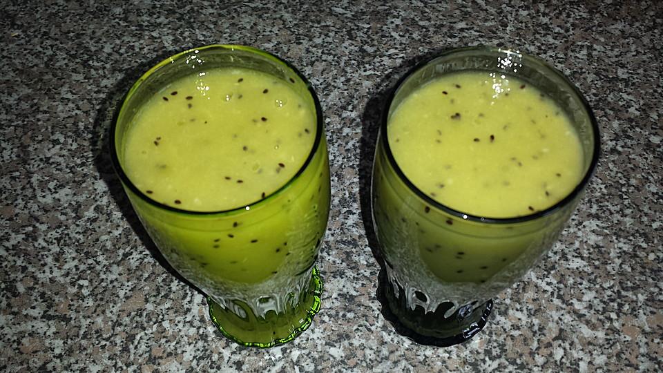 bananen kiwi orangen smoothie rezept mit bild von madrich38. Black Bedroom Furniture Sets. Home Design Ideas