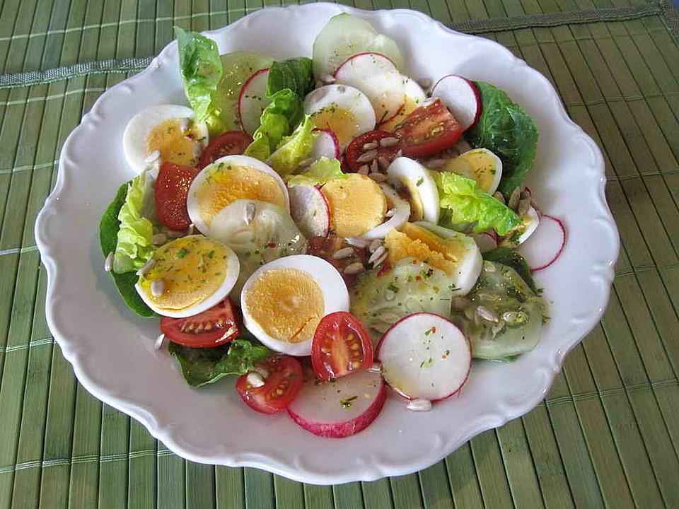 Gemischter salat rezept vegetarisch