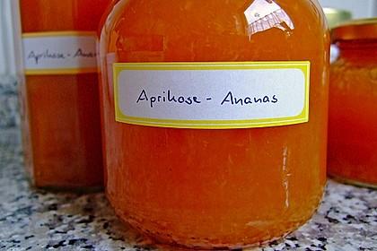 Aprikosen-Ananas-Marmelade mit Amaretto 1