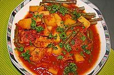 Bohnen-Tomaten-Gulasch