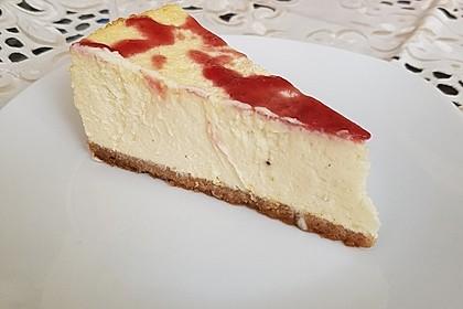 """Amerikanischer New York Cheesecake - so wie der berühmte """"Lindy's Cheesecake"""" in New York 9"""