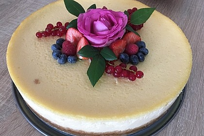 """Amerikanischer New York Cheesecake - so wie der berühmte """"Lindy's Cheesecake"""" in New York 13"""