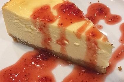 """Amerikanischer New York Cheesecake - so wie der berühmte """"Lindy's Cheesecake"""" in New York 12"""