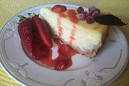 """Amerikanischer New York Cheesecake - so wie der berühmte """"Lindy's Cheesecake"""" in New York 4"""