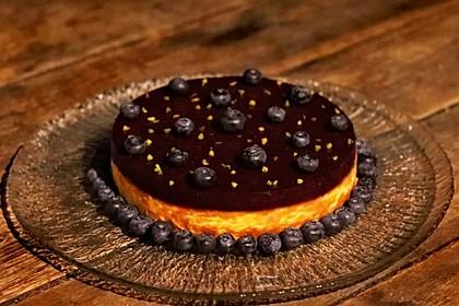 """Amerikanischer New York Cheesecake - so wie der berühmte """"Lindy's Cheesecake"""" in New York 5"""