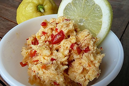 Chili-Knoblauch-Zitronenbutter