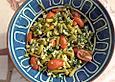 krümeltigers Salat mit grünen Bohnen