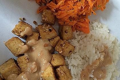 Scharfe Erdnusssoße Thai-Art 2