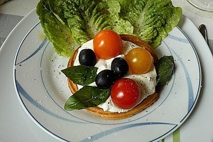 Tomaten-Oliven-Nester
