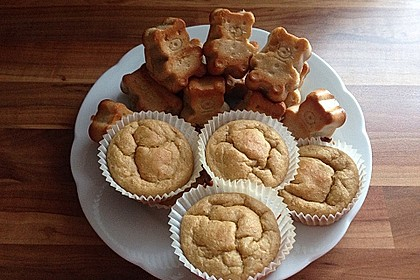 Skinny Banana Nut Muffins 1