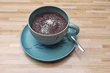 Veganer Mikrowellen-Tassenkuchen 1