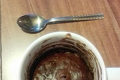 Veganer Mikrowellen-Tassenkuchen 10