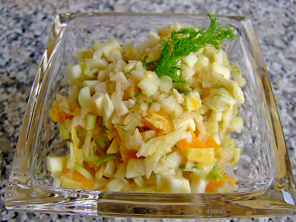 rettich fenchel salat mit orangen von apollomerkur. Black Bedroom Furniture Sets. Home Design Ideas