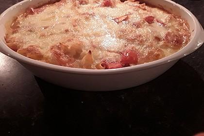 Cremiger Nudelauflauf mit Tomaten und Mozzarella 134
